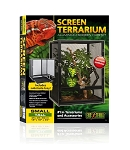 EXO TERRA - SMALL TALL SCREEN TERRARIUM -	18  x 18  x 24