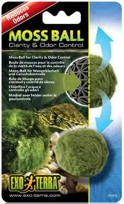 OUT OF STOCK - EXO TERRA MOSS BALL - REDUCES ODORS