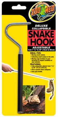 ZOO MED COLLAPSIBLE SNAKE HOOK