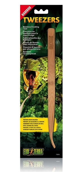 OUT OF STOCK - EXO TERRA TWEEZERS - BAMBOO FEEDING TOOL