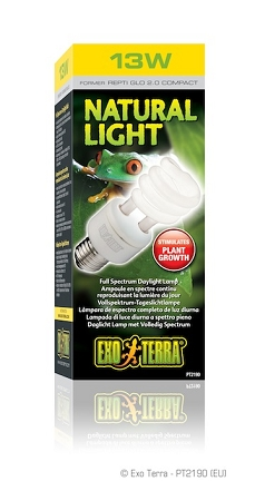 (OUT OF STOCK) - EXO TERRA REPTI GLO natural light uvb - 13 WATT