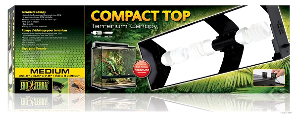 OUT OF STOCK - EXO TERRA COMPACT TOP FIXTURE - medium