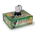 FLUKERS CLAMP LAMP - WITH DIMMER SWITCH, 5.5 inch