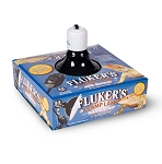 FLUKERS CLAMP LAMP - WITH DIMMER SWITCH, 8.5 inch