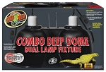 ZOO MED COMBO DEEP DOME - large