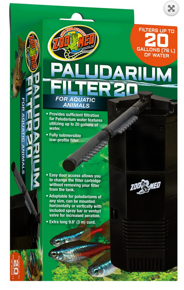 OUT OF STOCK - PALUDARIUM FILTER 20 - up to 20 gal