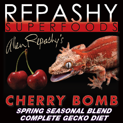 OUT OF STOCK - REPASHY CRESTED GECKO DIET - CHERRY BOMB  - 6 OZ