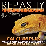 REPASHY CALCIUM PLUS GREAT FOR AMPHIBIANS & GECKOS 17.6 oz