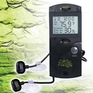 ZILLA COMBO Hygrometer & Thermometer