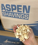 ASPEN SHAVINGS - 2.5 CUBIC FEET compressed bag