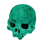 z OUT OF STOCK - HALLOWEEN - EXO TERRA mini SKULL - GLOW IN THE DARK