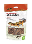 OUT OF STOCK - ZILLA REPTILE MUNCHIES - DRIED MEALWORMS - 3.75 OZ bag