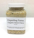 OUT OF STOCK - ORGANIC INSECT CHOW - 11.2 oz jar