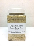 OUT OF STOCK - ORGANIC INSECT CHOW - 22.4 oz jar