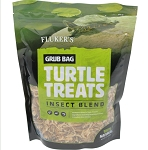 FLUKERS INSECT BLEND -  6 OZ BAG, GRUB BAG TURTLE TREAT - Dried