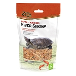 ZILLA RIVER SHRIMP - REPTILE MUNCHIES - freezedried,  2 OZ BAG