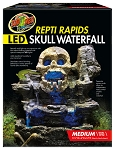 ZOO MED MED LED WATERFALL - SKULL