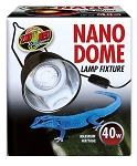 ZOO MED - NANO DOME LIGHT FIXTURE - UP TO 40 WATTS