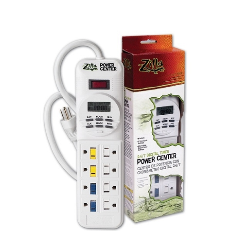 ZILLA POWER CENTER WITH TIMER - DIGITAL