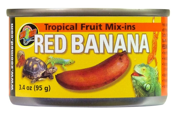 OUT OF STOCK - ZOO MED RED BANANA, 3.2 oz can