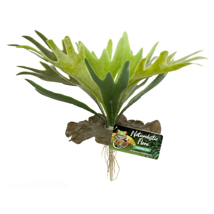 ZOO MED - NATURALISTIC FLORA – STAGHORN FERN