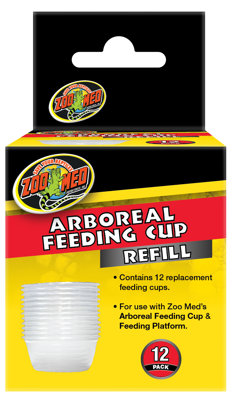 OUT OF STOCK - ZOO MED - ARBOREAL FEEDER CUP  - REFILL