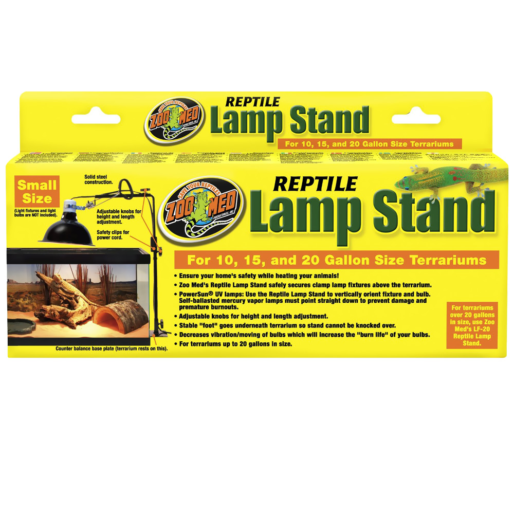 Z Out Of Stock Zoo Med Lamp Stand Small