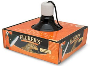FLUKERS CLAMP LIGHT -  8.5 inch