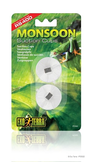 EXO TERRA - MONSOON SUCTION CUPS