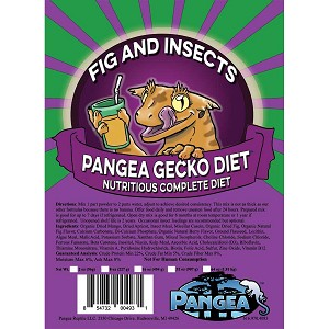 PANGEA COMPLETE DIET FRUIT MIX - FIG and INSECTS - 2 OZ