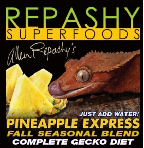 z OUT OF STOCK - REPASHY CRESTED GECKO DIET - PINEAPPLE EXPRESS  - 6 OZ