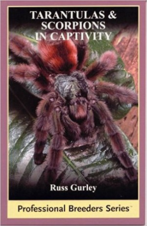 Tarantulas & Scorpions in captivity book